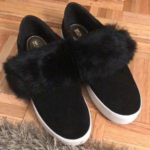Michael Kors Fur Sneakers